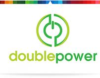 Double Power   Logo Template