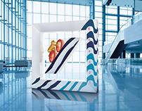Deutsche Bank - 3D logo artwork