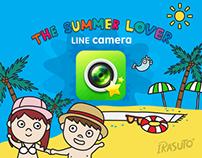 LINE Camera stamp : IRASUTO ®