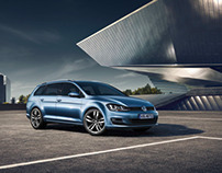 Volkswagen Golf variant prelaunch catalogue