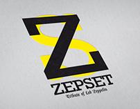 LOGO & POSTER DESIGN / ZEPSET BAND - TRIBUTE OF LEDZEP