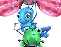 Regua de insetos