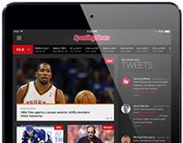 Sporting News for iPad
