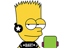 Bart Simpson X Streetstyle