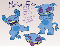Storyboard: Monkeyface The Destroyer