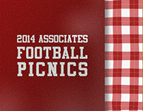 Football Picnic Invitation