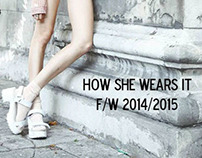 Tobe Report: How She Wears It F/W 2014-2015