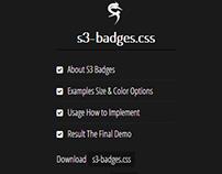 S3-Badges