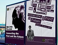 Milton Glaser & Lou Dorfsman Poster