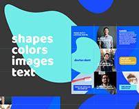 Instagram grid & content design