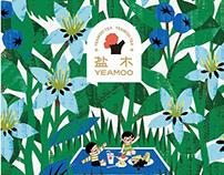 Yeamoo盐木 | 购物袋插画