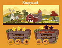 Flappy Farm Game Interface