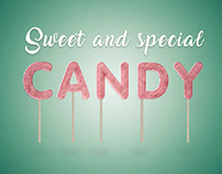 Sweet and special candy