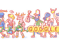 Google Doodle 1st of May 2017  in Germany
