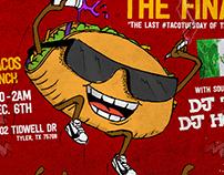 Taco Tuesday Flyer Design