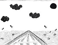 Ilustrações Estilo Xilogravura