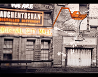 Auchentoshan Whisky film animation/illustration