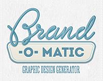 Brand-o-matic / Automatic Logo Generator