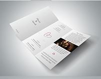 Trifold Wedding Brochure