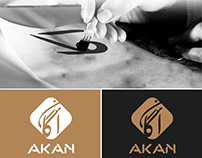 Akan Company - Arabic calligraphy Logo