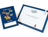 CCGS – Knights Quest Passport and Certificate