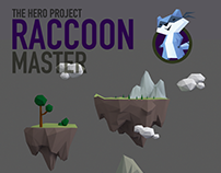 Raccoon Master. 3D mobile quest game for iOS