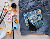 Art Pants - Anti boring pockets project 👖🎨