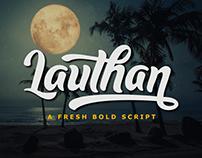 FREE | Lauthan A Fresh Bold Script