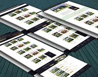 Веб-дизайн сайта по аренде недвижимости