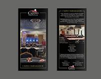 Leaflet for casino