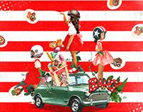 Collage Artwork 160-168