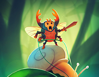 Character Design Challenge - Insect Warrior - Process