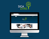 Siga Livre Eletropaulo Website - Interface Design