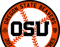 2017 College World Series Roundels