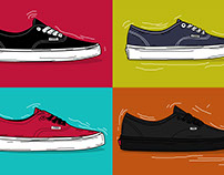 VANS (Set A) Illustration