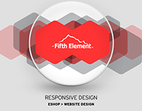 E-SHOP Design Fifthelement store | 2015