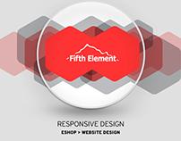 E-SHOP Design Fifthelement store | 2015