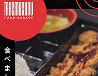 Tabemashou: Food Garage Food Posters