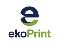 ekoPrint · Logo · Website · Redesign