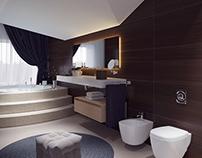 Bathroom, Almaty