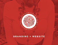 Tribal Stylez: Branding + Website