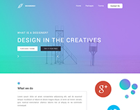 Design apps and web page