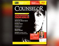 Counselor Magazine April 2014 Layout & Design