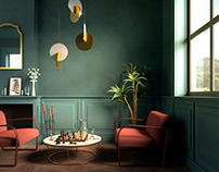 New Classic Interior | Personal Work