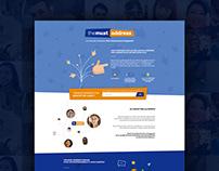 THEMUSTADDRESS.COM / Conception Branding & Webdesign
