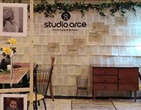 Diseño y ejecución de stand para Studio arce, en Ifema