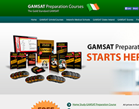GAMSAT Preparation Courses Ireland Website