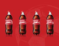 coca-cola label design for FIFAWORLDCUPQatar 2020