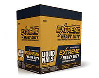 Liquid Nails Extreme Heavy Duty Packaging