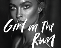 Girl on the run - Editorial Layout